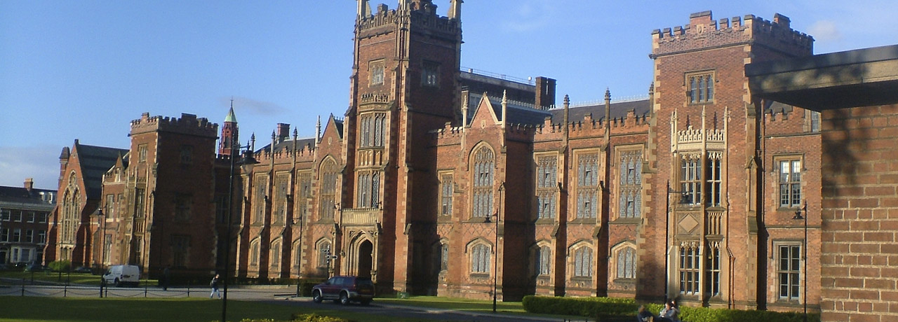 Queens University Belfast main building