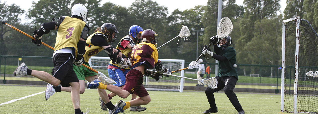 Athletics union lacrosse match