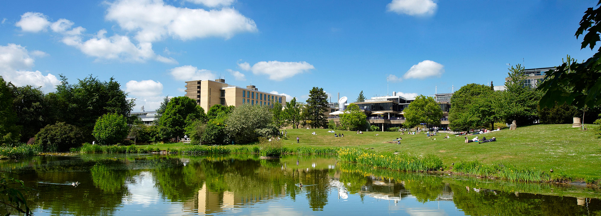 The campus Bath University