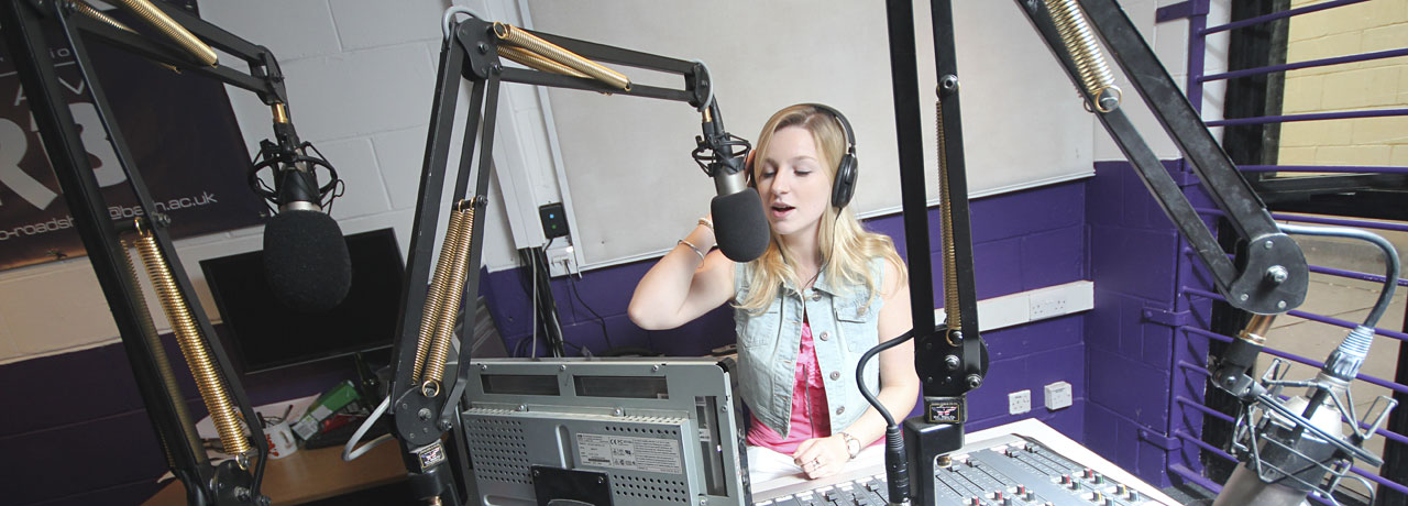 Student radio station Bath