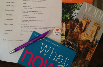 York taster day freebies