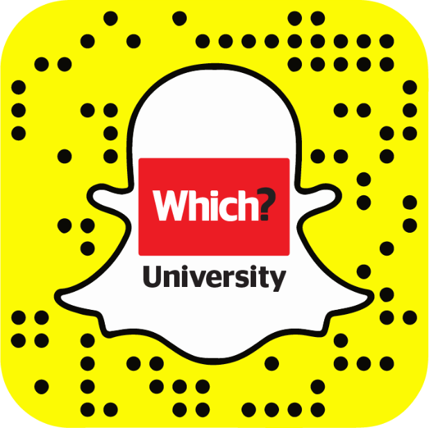 Which? University Snapchat snapcode