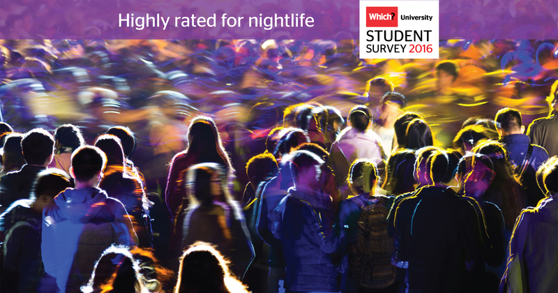 Which? University Student Survey 2016 - Nightlife