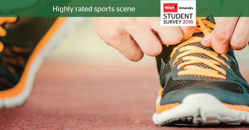 Which? University Student Survey 2016 - Sports scene