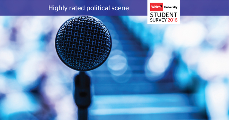Which? University Student Survey 2016 Political scene
