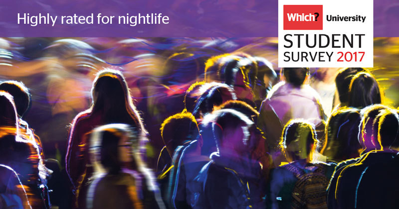 Which? University Student Survey 2017 - Nightlife