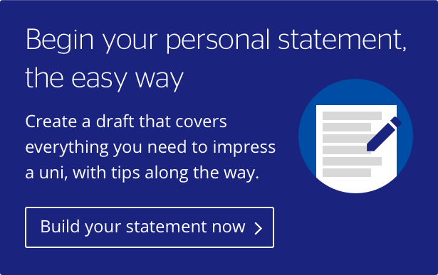 Personal statement builder - build your first draft with our tool