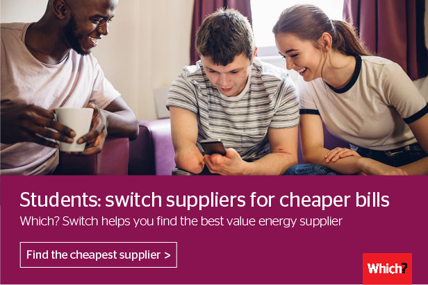 Compare Gas and Electricity suppliers - Which? Switch