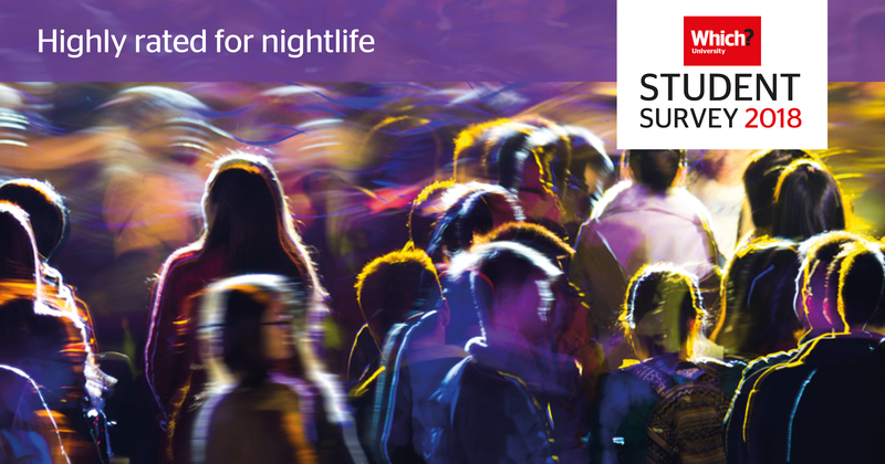 Which? University Student Survey 2017 Nightlife