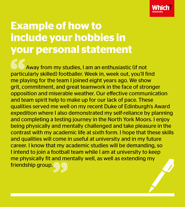 can you reuse your personal statement for ucas