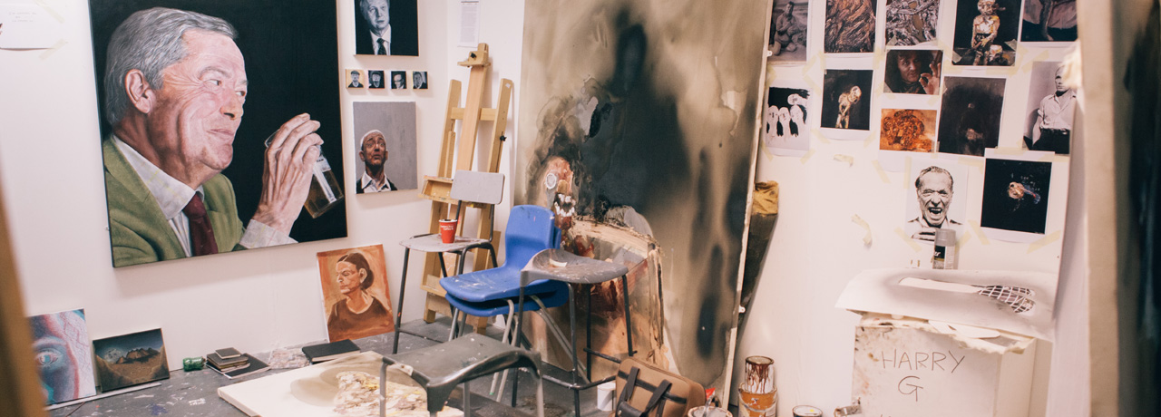 Fine Art studios, Leeds Arts University