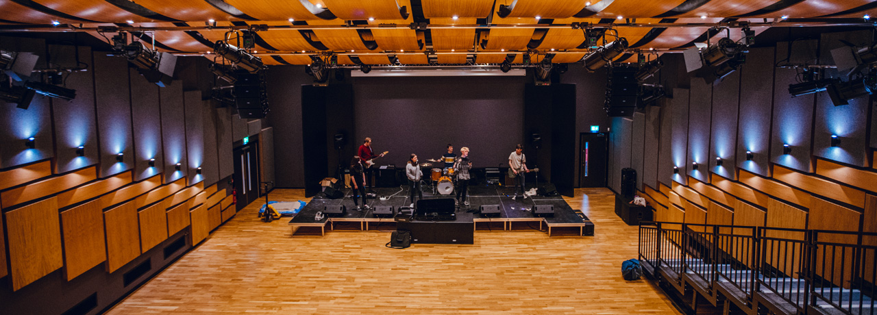 Leeds Arts University performance auditorium, Leeds Arts University