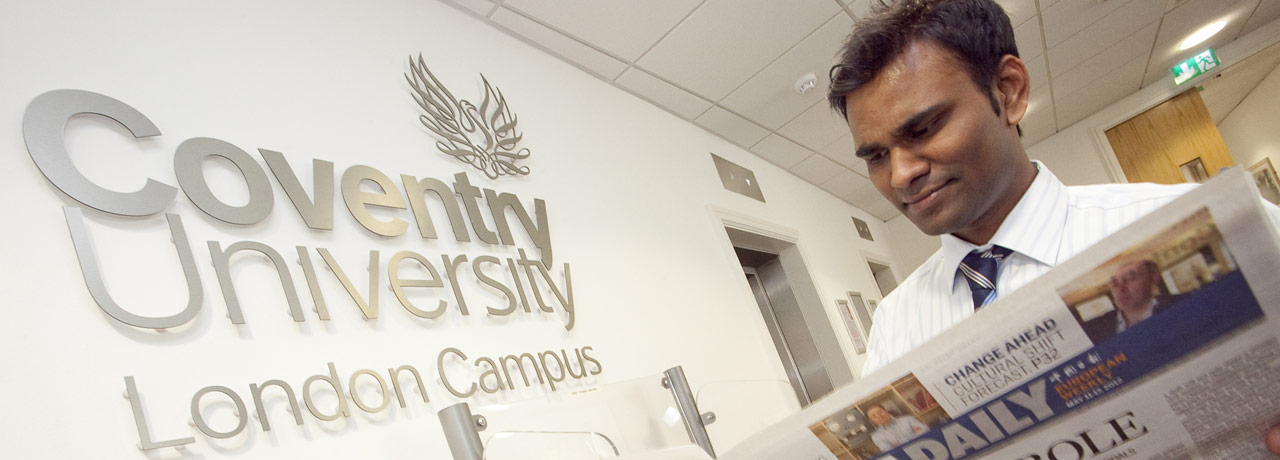 Student at London Campus