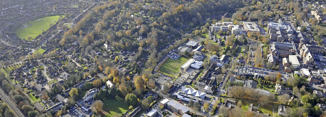 University of winchester w76 which campus aerial view fandeluxe Choice Image